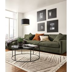 Room & Board   Linger Sofas with Chaise
