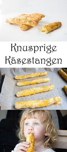 Baking for children Crispy cheese sticks for the lunch box The post Crunchy . - Baking for children Crispy cheese sticks for the lunch box The post Crispy cheese sticks: Recipe fo - Lunch Recipes, Baby Food Recipes, Breakfast Recipes, Drink Recipes, Baby Snacks, Snacks Für Party, Healthy Eating Tips, Healthy Snacks, Healthy Recipes
