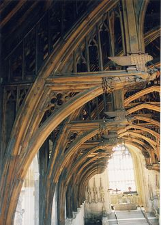 Westminster Hall ceiling, Houses of Parliament (LW19-5)