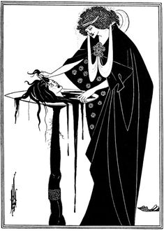Salomè, Beardsley, incisione