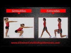 Ejercicios para eliminar la celulitis rapido de las piernas gluteos y caderas