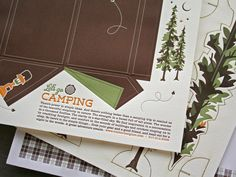 Let's go Camping by Studio On Fire promo. Great impressions on multiple diecut sheets for pop-outs.