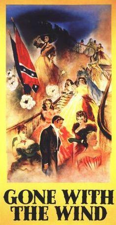 cover art for the original 1939 GWTW movie premiere program.