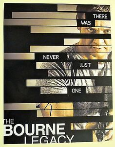 Tony Gilroy Autographed Signed Bourne Legacy Poster COA *Wow* Jeremy Renner