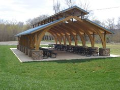 picnic shelter plans | view all shelter photos rent a picnic shelter having a family reunion ...