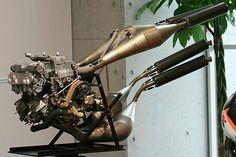 The infamous HRC NSR500 MotoGP Powerplant.