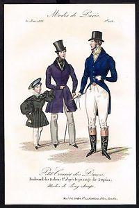 fashion 1834 | Details zu 1834 Biedermeier Mode Kupferstich victorian fashion ...