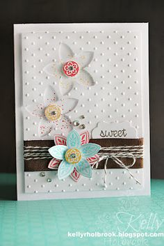 Triple Treat Flower Card