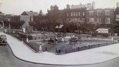 The Triangle - Felixstowe town centre  circa 1935