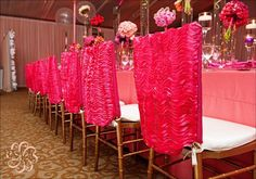 Gorgeous bat mitzvah oh so fabulous,LLC girly chic classic pink gold cream flowers boxwood orange fuschia butterflies