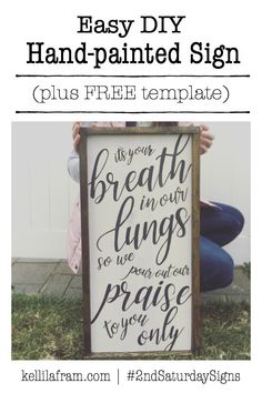 Breath In Our Lungs :: Saturday Signs