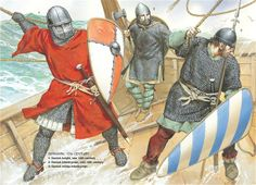 Medieval Scandinavian Armies - Danemark, 12th Century. Osprey Publishing