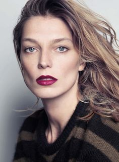 Smile: Daria Werbowy in Air France Madame December/January 2014.15 by Nico