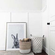 Completely blown away too see our bunny print in the home of Jillian Harris! I think he looks great amoungst these beautiful neutral tones. Thank you Jillian!