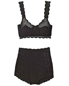 I keep thinking about this Dolce & Gabbana crochet pin-up bikini. Why aren't there DIY versions yet? Elle Trend Report 2010: Crochet Clothing and Accessories