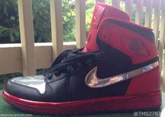 JUSTIN TIMBERLAKE × NIKE AIR JORDAN 1 RETRO HIGH OG LOTS BLACK/UNIVERSITY  #sneaker