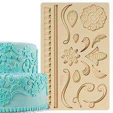 Wilton Lace Fondant and Gum Paste Mold 409-2557