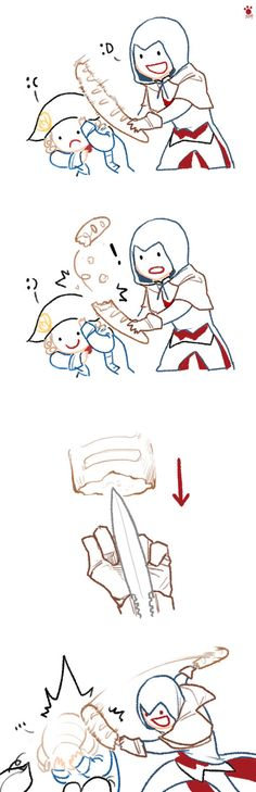 assassin's creed fan art || It's perfect, just absolutely perfect X'D