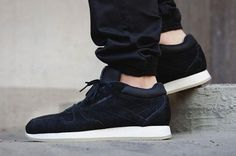 "Reebok Classic Leather Crepe ""Black"""