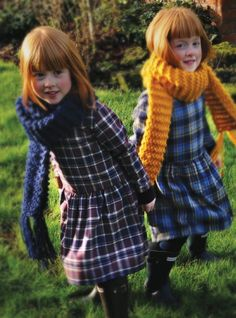 No pattern but nice idea for a scarf Marmalade and Mash Kids Fashion Summer 2013 6