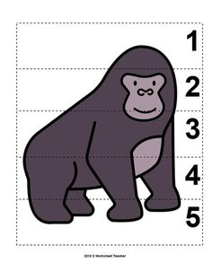 Zoo Activities Preschool, Science Projects For Preschoolers, Preschool Learning, Teaching, Draw Animals For Kids, Micro Creche, Dear Zoo, Animal Puzzle, Picture Puzzles