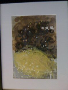 Paper work in frame SOLD