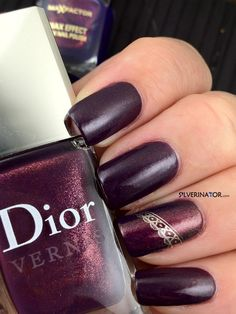 Dior Shadow with accent, matte topcoat