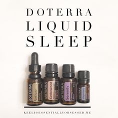 DoTERRA Liquid Sleep is wonderful to promote a restful night sleep! Just one drop of each on the bottom of the feet, and sweet dreams! Re-pin to share with any friends who may love this blend! ❤️❤️❤️ #doterra #liquidsleep #sleeping #essentialoils #oils