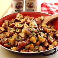 WEBSTA @ flavorgod - BACON-FLAVORED ROASTED POTATOES🖍 Customer Repost!-Very simple recipe for roasted mustard potatoes made even more savory with Flavor God Bacon Lovers Seasoning.->From @paleo_newbie_recipes:-INGREDIENTS-3 lbs new red potatoes, quartered1/2 cup Dijon mustard3 Tbsp olive oil2 Tbsp melted ghee or butter2 Tbsp fresh lemon juice2 tsp @flavorgod Bacon Lovers Seasoning2 garlic cloves, minced or pressed1 Tbsp dried or fresh oregano1 Tbsp dried or fresh rosemary@flavorgod…