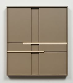 John Pittman New Work - Shadow Relief Paintings Alkyd/Wood Wardrobe Door Designs, Wardrobe Design Bedroom, Bedroom Cupboard Designs, Bedroom Cupboards, Sideboard Cabinet, Cabinet Furniture, Modern Furniture, Furniture Design, Sliding Wardrobe Doors