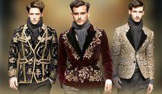 Gallery For > Baroque Fashion Men