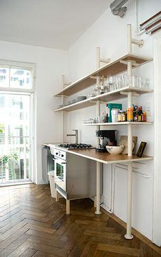 Freestanding kitchen, by Steffan Kehrle.