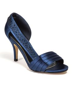 Look at this #zulilyfind! Lady Couture Navy Studded Sharp Sandal by Lady Couture #zulilyfinds