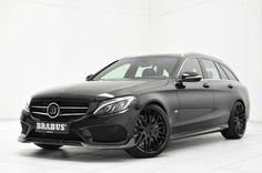 Mercedes-Benz C-Class Wagon (S205) от ателье Brabus – агрессивный снаружи, комфортный внутри #Brabus #Mercedes-Benz_C-Class #Mercedes-Benz #tuning # #Mercedes-Benz_S205 #german_auto_brands #Serial