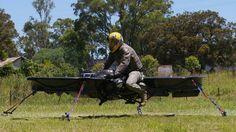 Maker Kickstarter-hoverbike werkt aan prototype voor leger VS | NU - Het laatste nieuws het eerst op NU.nl