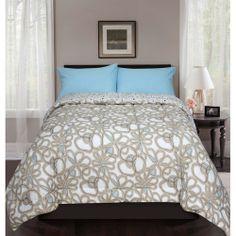 Nico Reversible Bed in a Bag Bedding Set: Bedding : Walmart.com