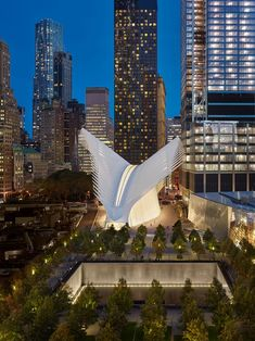 25 Masterpieces That Prove 2016 Was an Incredible Year for Architecture - Santiago Calatrava, World Trade Center Oculus, New York New York Architecture, Chinese Architecture, Modern Architecture House, Futuristic Architecture, Amazing Architecture, Architecture Design, Modern Houses, Santiago Calatrava, U Bahn Station