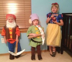 family of seven halloween costumes - Google Search