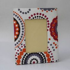 Colourful Leatheretthe Back Photoframe Dot Art Painting, Mandala Painting, Stone Painting, Painting Frames, Painting On Wood, Diy Photo Frame Cardboard, Arte Country, Mandala Dots, Frame Crafts