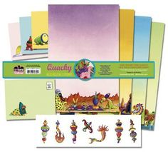 DHorse Deluxe Stationery Exotique: Jim Woodring Quacky