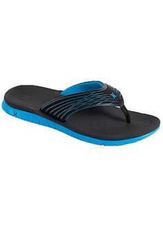 ba3f82cc3 Hurley Mens Phantom Sandals Black/Blue Size 11