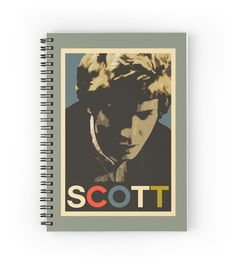 A notebook design based on the cover of Scott's 1969 album, Scott 4...... #Scott4 #ScottWalker #WalkerBrothers #ScottEngel #typography #popart #music #rock #rockstar #singer #songwriter #singersongwriter #popstar #HopeStyle #ObamaPoster #retrocool #retromusic #vintagecool #1960s #1960sstyle