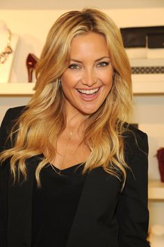 Kate Hudson's girl-next-door eyeliner (and hair. And everything)