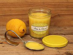 Pâte de Citron au Micro-Ondes (Lemon Curd)