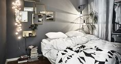 Gothenburg Apartment With A Bold Dark Bedroom - Gravity Home