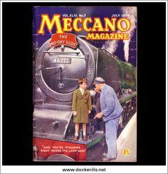 Meccano Magazine XLIII No.7 July 1958 Collectible | hobbyDB