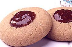 Peanut Butter & Jam Thumbprints recipe