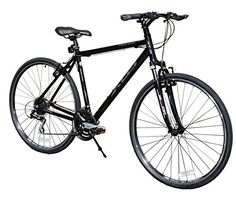 XDS Men's Cross 300 24-Speed Hybrid Bicycle - Bike Rides Club