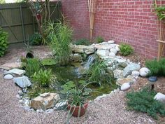 Super small yard now has an in-ground spa: This is the original water garden/pond that I built in 2002.