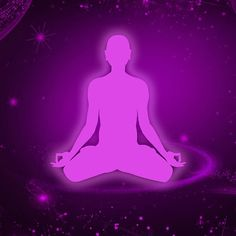 Purple Meditating Merchandise